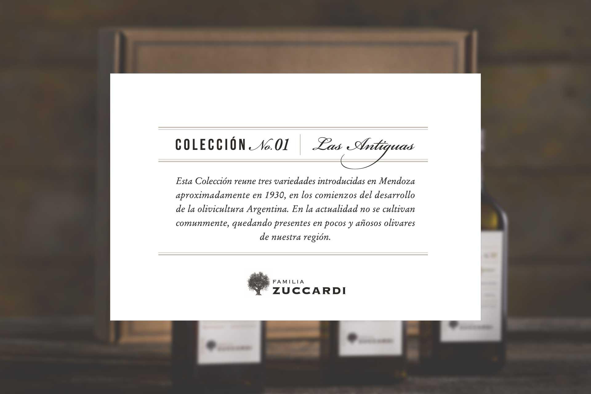 Coleccion 01 Aceites Varietales Zuccardi